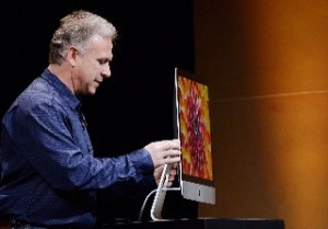 De iMac op een Apple event